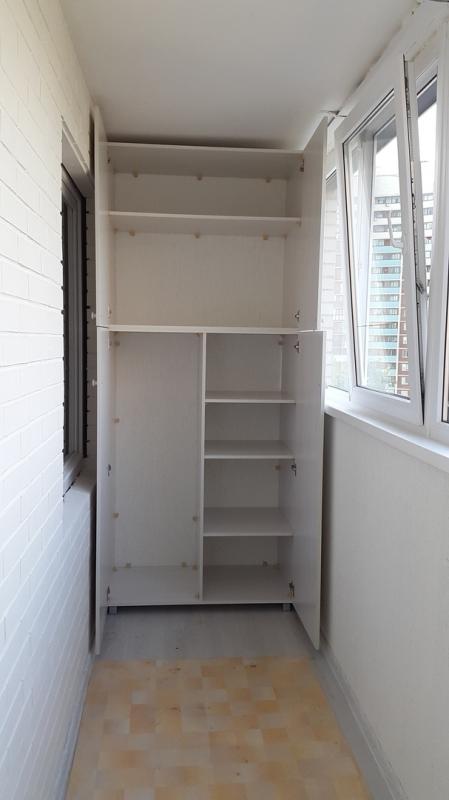 """Шкаф на балкон купить в спб мебельная фабрика """"тепло холод""""."""