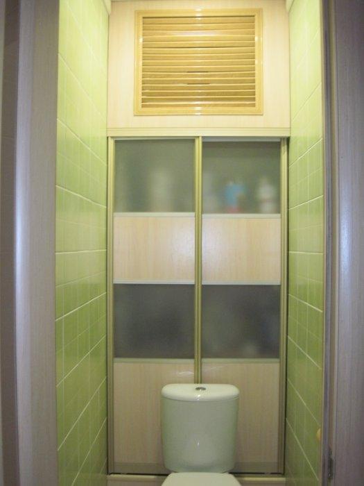 Шкаф в туалет в картинках
