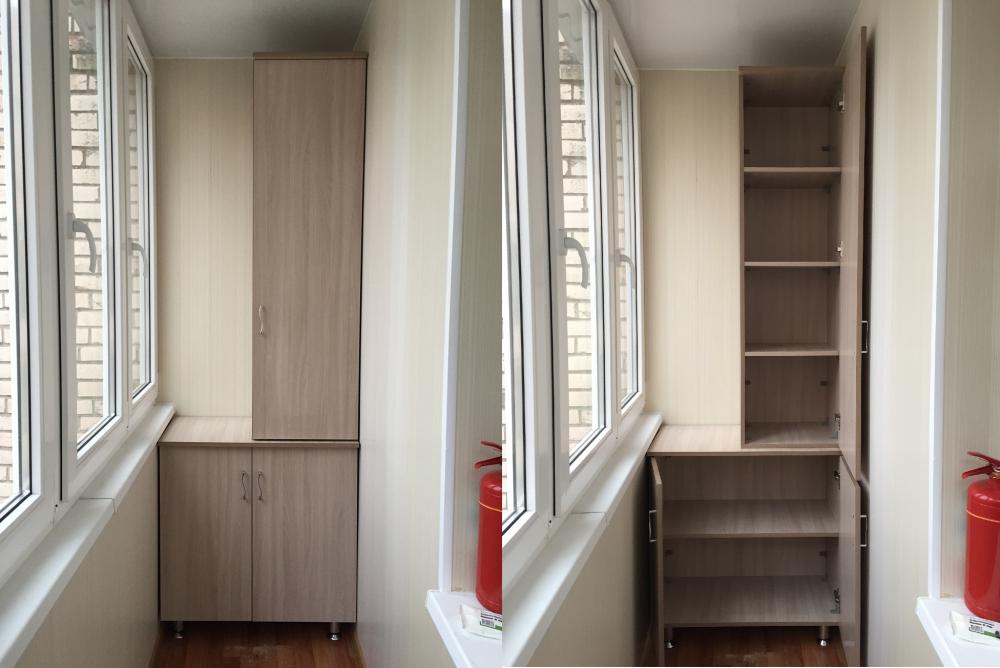 балконы дизайн фото встроенные шкафы покорила